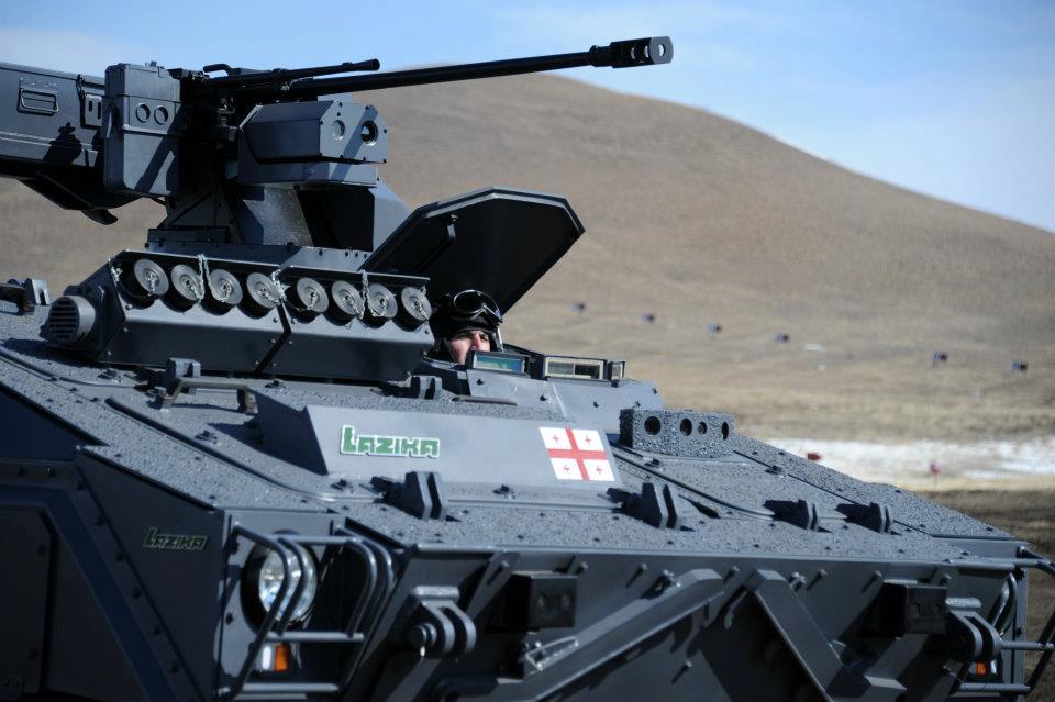 ОАЭ приобрели грузинские боевые модули
