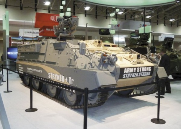 Tracked Stryker variant - A GDLS proposal for US Army AMPV program?