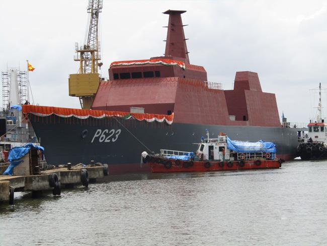 Спущен на воду первый патрульный корабль индийской постройки для Шри-Ланки