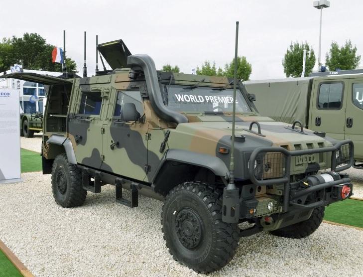 Презентация бронированной машины Iveco LMV 2