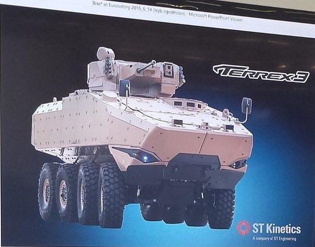 Компания Timoney Technology разработала для STK бронетранспортер Terrex 3