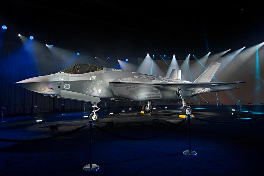 Первый F-35I для Израиля