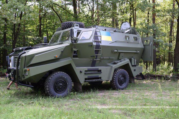 Государственная пограничная служба Украины испытывает турецкие машины Turkar