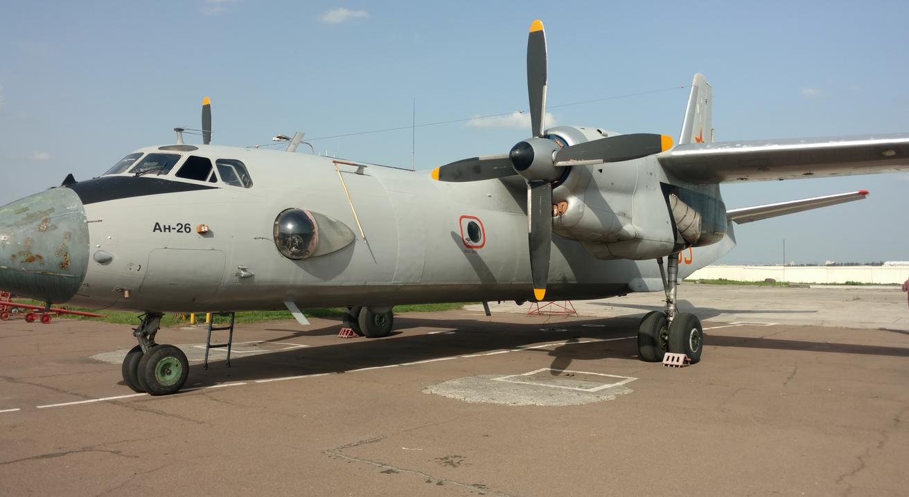 Казахские самолеты Ан-26 прибыли на Украину для прохождения ремонта