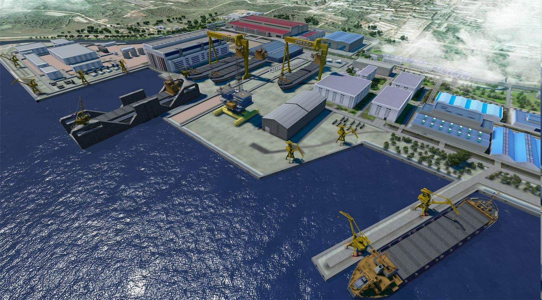Заказ в Китае транспортно-передаточного дока для нового судостроительного комплекса «Звезда»