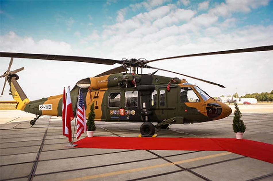 Первый вертолет Т70 для Турции