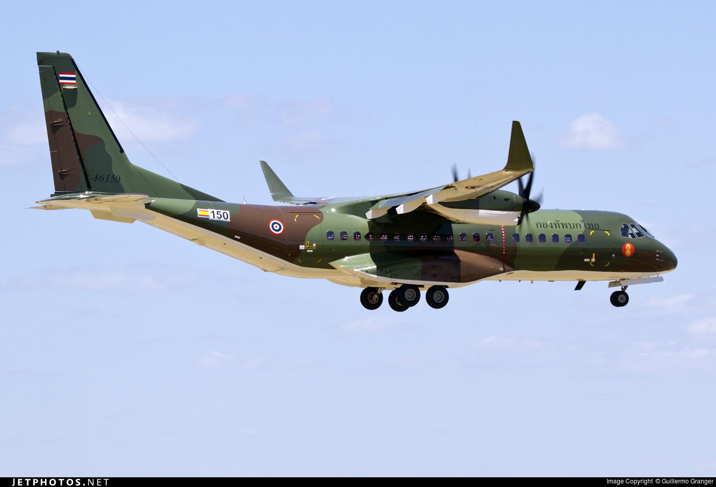 Самолет С295W для Таиланда