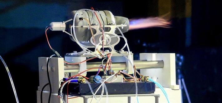 Малогабаритный газотурбинный двигатель, сделанный на 3D-принтере