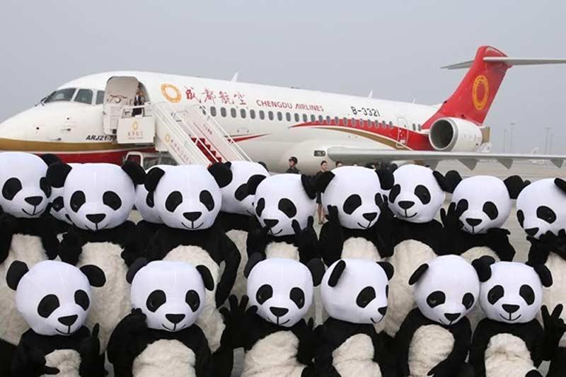 Китайский региональный самолет ARJ21 совершил первый коммерческий рейс