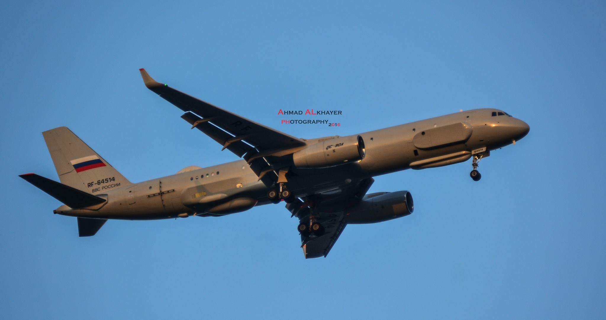 Ту-214Р снова прибыл в Сирию