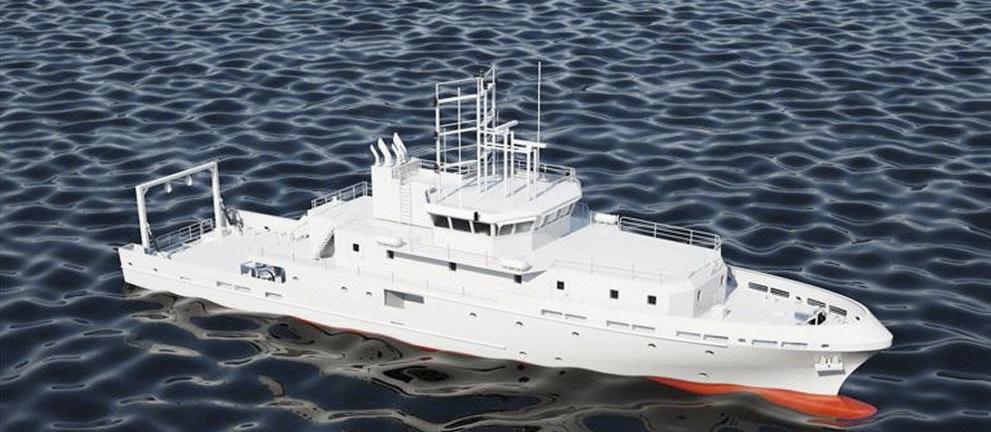 Турецкое гидрографическое судно для Туркмении
