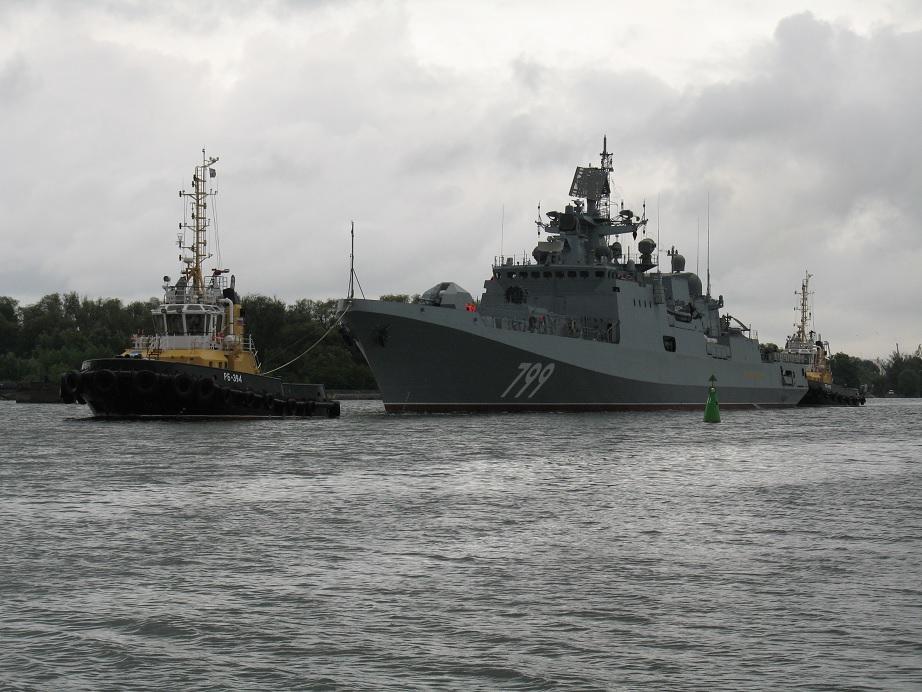 """Фрегат """"Адмирал Макаров"""" передан на заводские ходовые испытания"""