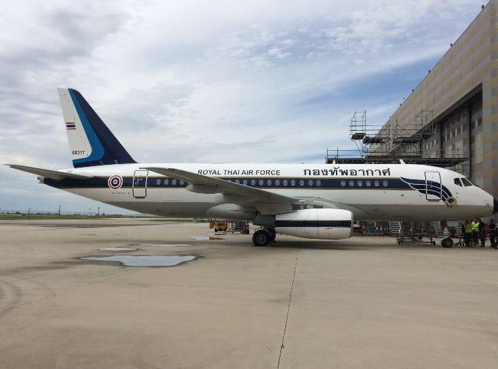 Таиланду переданы два самолета  Sukhoi Business Jet