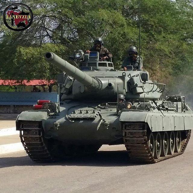 Новая модернизация венесуэльских танков AMX-30