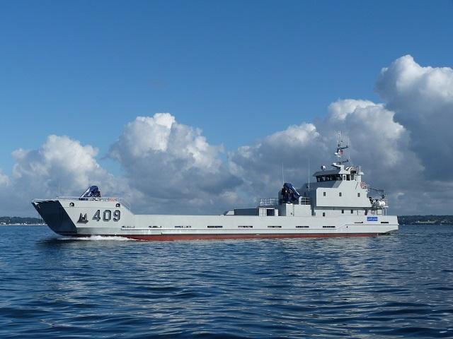 Малый десантный корабль для Марокко