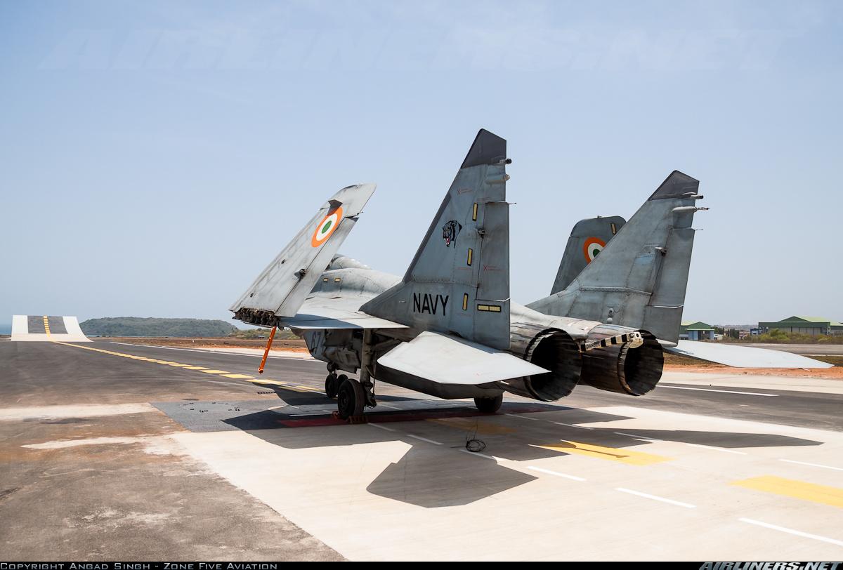 Индийская Счетная палата выявила технические дефекты у самолетов МиГ-29К/КУБ