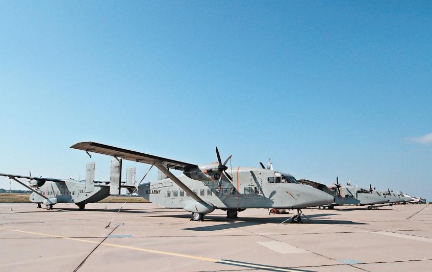 Эстония отказалась от получения американских самолетов C-23B+ Sherpa