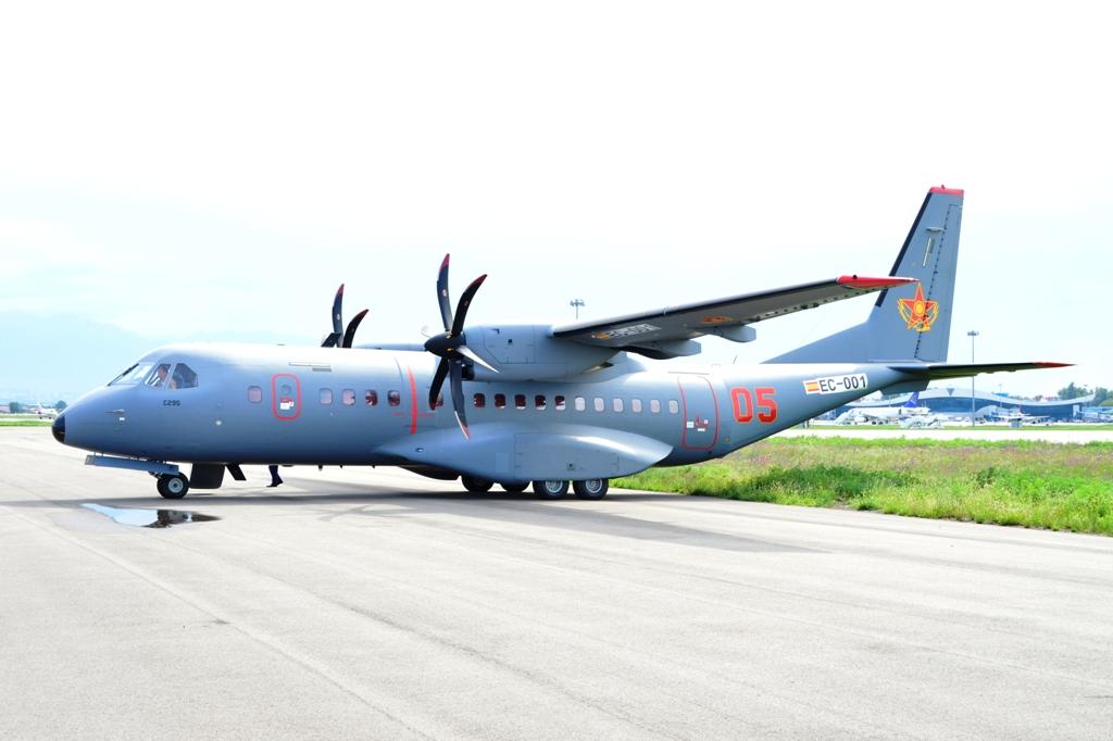 Новый самолет С295М для Казахстана