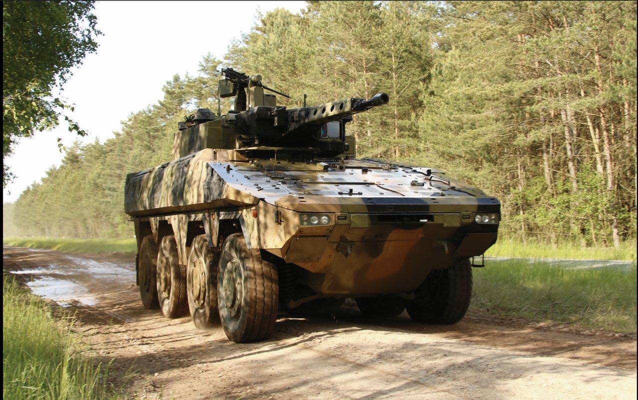 Boxer и Patria AMV отобраны для дальнейших испытаний в рамках австралийского тендера