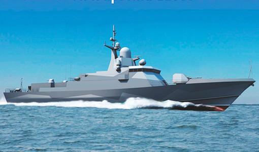 Зеленодольский завод получил контракт на пять малых ракетных кораблей проекта 22800