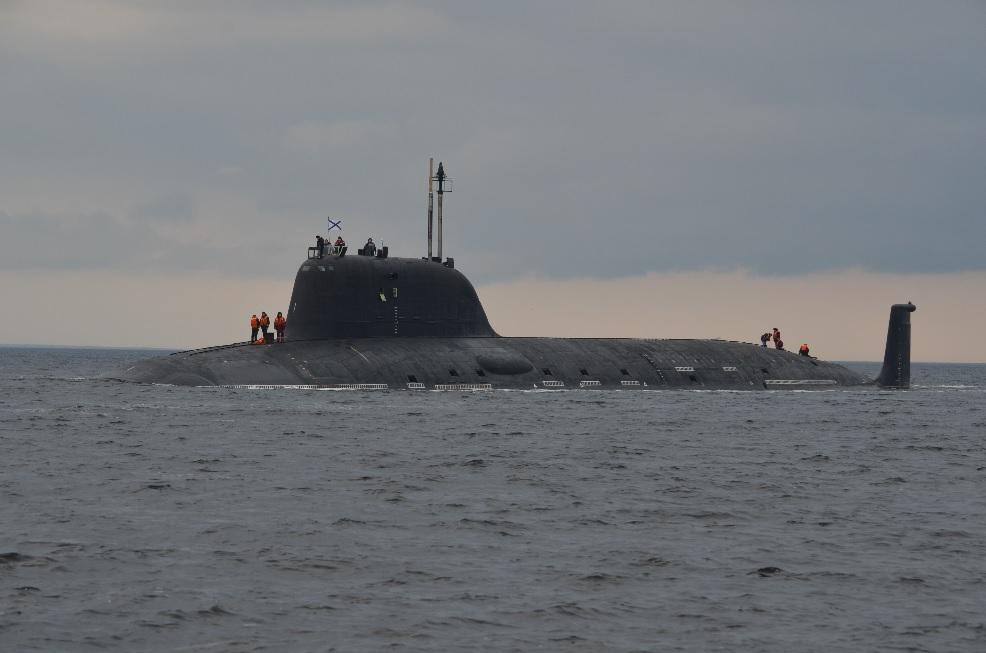 """Атомный подводный крейсер """"Северодвинск"""" совершил первый автономный поход"""