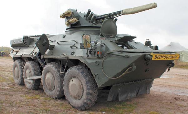 Производство бронетранспортеров БТР-3Е на Киевском бронетанковом заводе