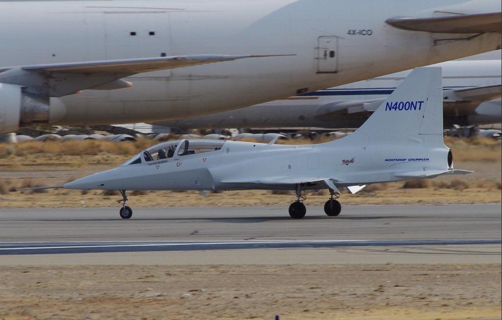 Прототип учебно-тренировочного самолета разработки Northrop Grumman для конкурса T-X