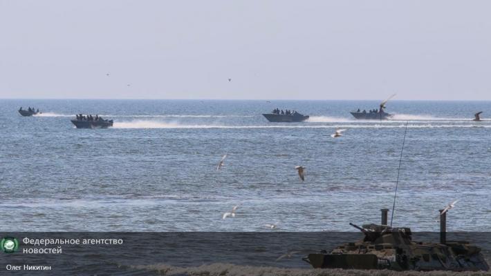 Боевая подготовка морской пехоты ДНР