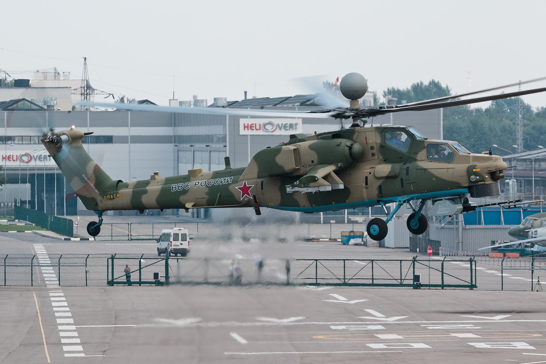 Разработка комплексного тренажера экипажа вертолета Ми-28НМ
