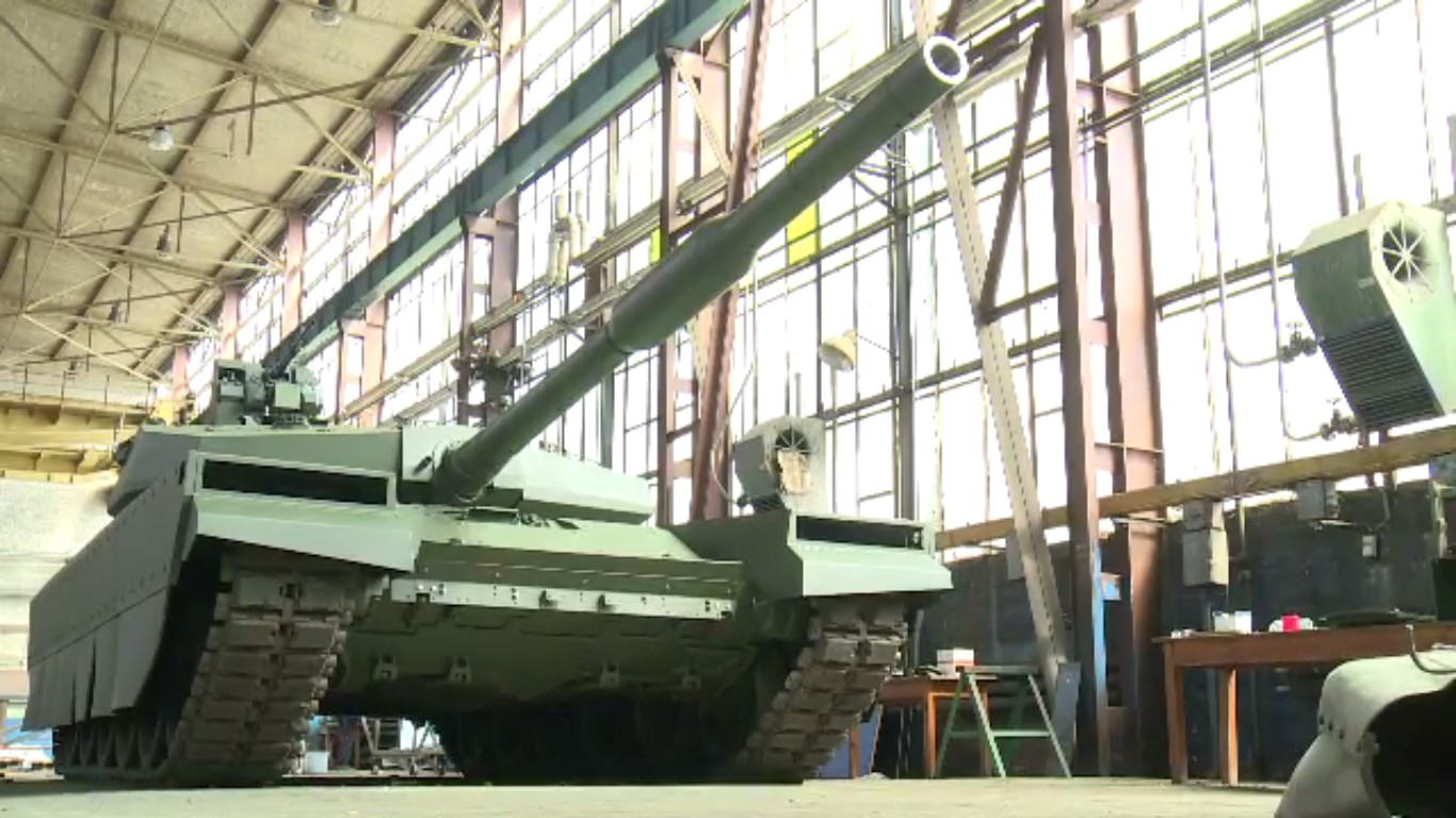 Новая польская модернизация танка Т-72