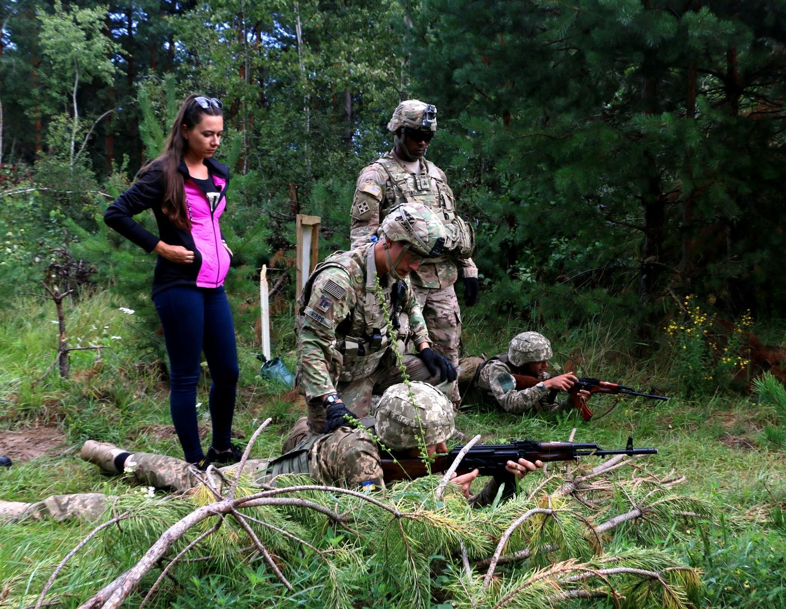 Обучение украинцев