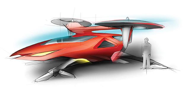 Boeing ведет проработку электрического пассажирского мультикоптера