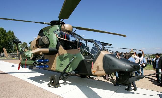 Счетная палата Австралии критикует программу закупки вертолета Tiger ARH
