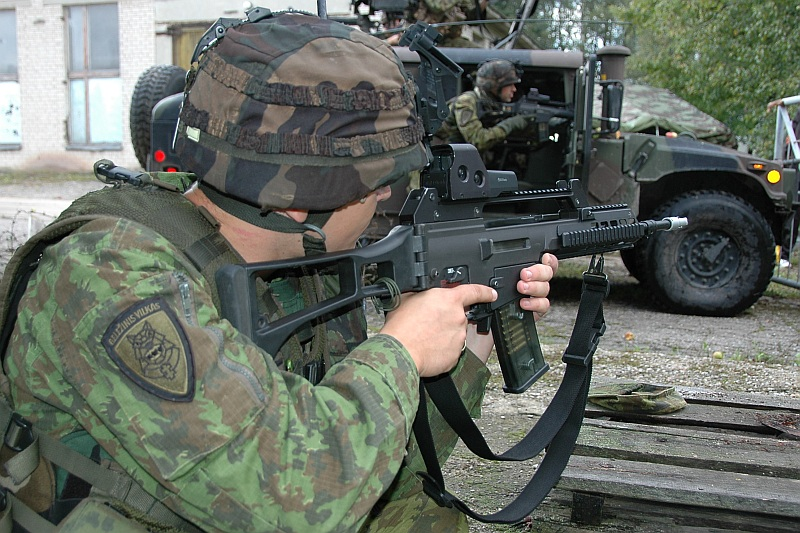 Литва закупает дополнительную партию автоматических винтовок G36