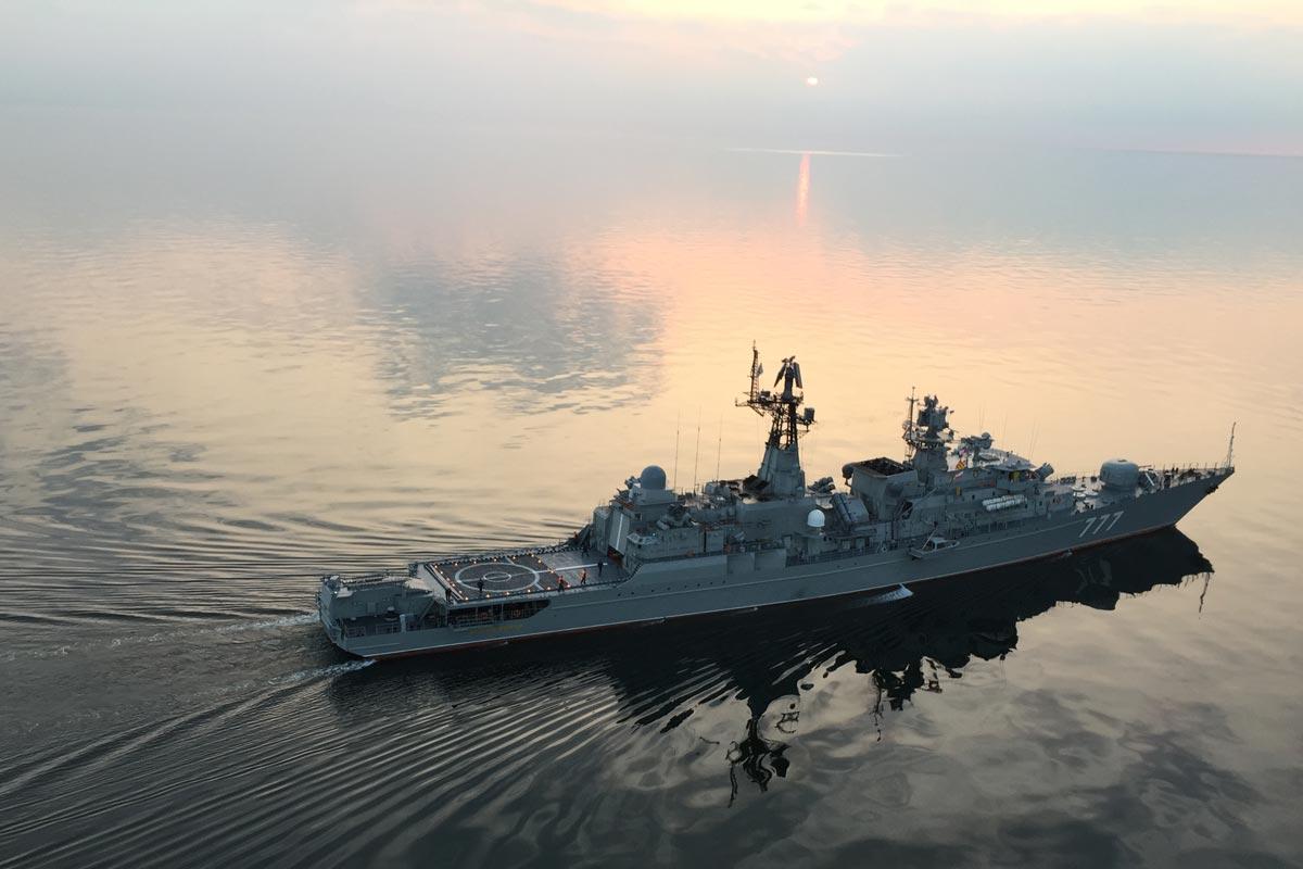 «Зоря»-«Машпроект» о ремонте двигателя сторожевого корабля «Ярослав Мудрый»