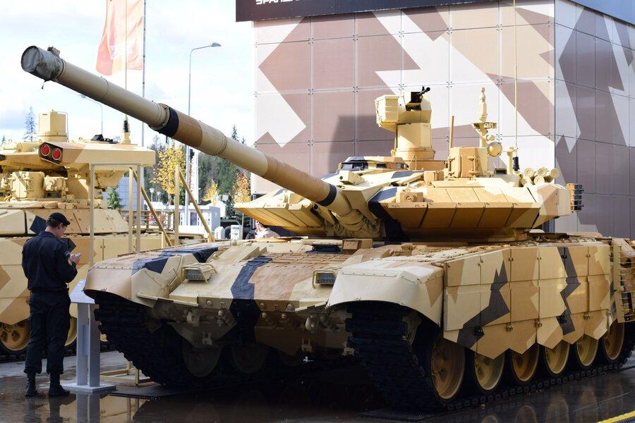 Министерство обороны Индии одобрило закупку в России 464 танков Т-90МС