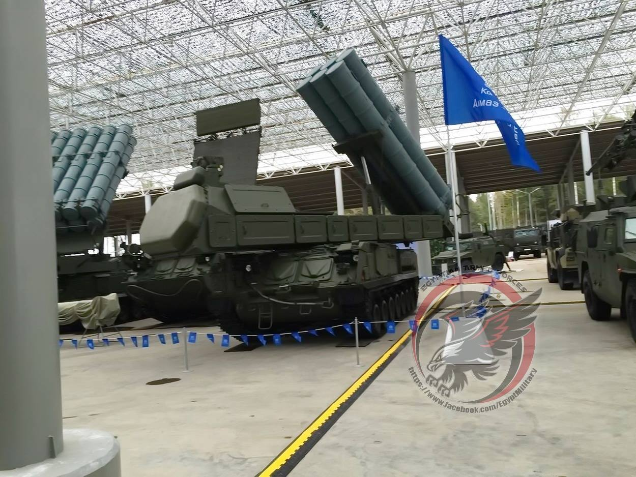 Anti-aircraft missile system & amp; quot; Buk-M3 & amp; quot;