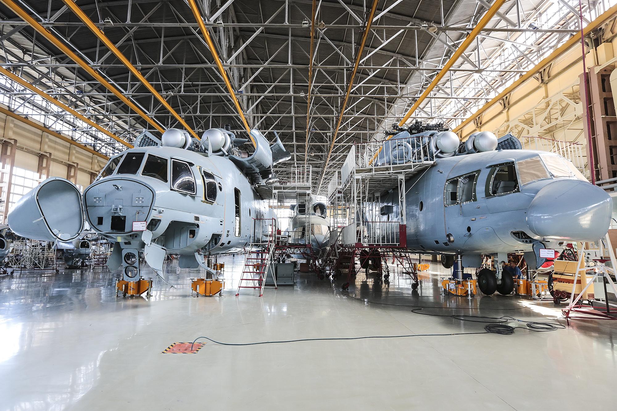 Контракт на поставку четырех вертолетов Ми-26Т2 в Иорданию