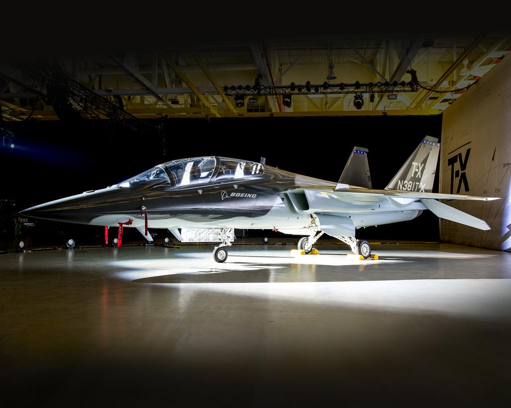 Представлен учебно-тренировочный самолет Boeing по программе Т-Х