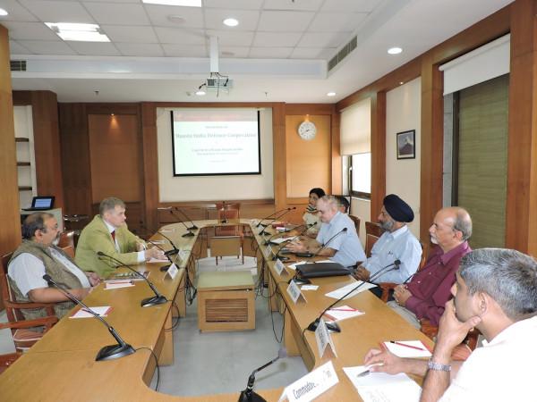 О сотрудничестве Центра АСТ с индийскими аналитическими центрами