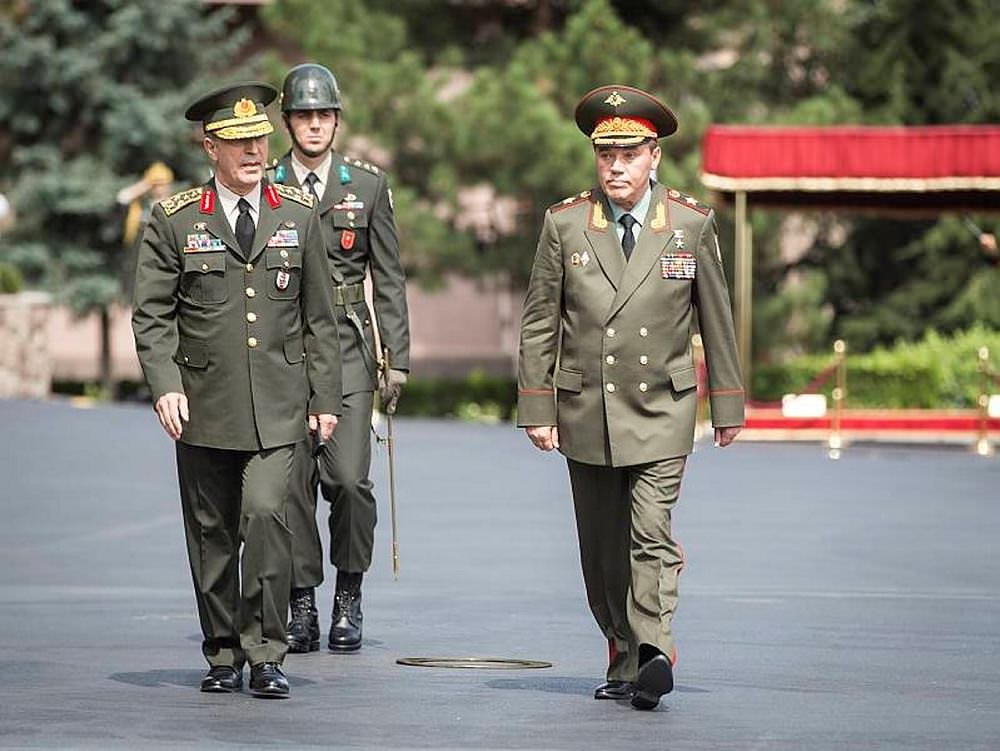 Визит начальника Генерального Штаба Вооруженных Сил России Валерия Герасимова в Турцию