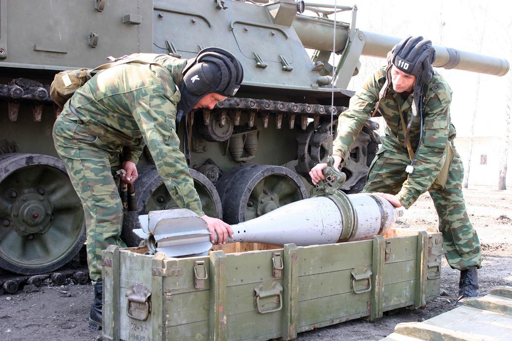 Формирование двух самоходно-артиллерийских дивизионов большой мощности в Южном военном округе
