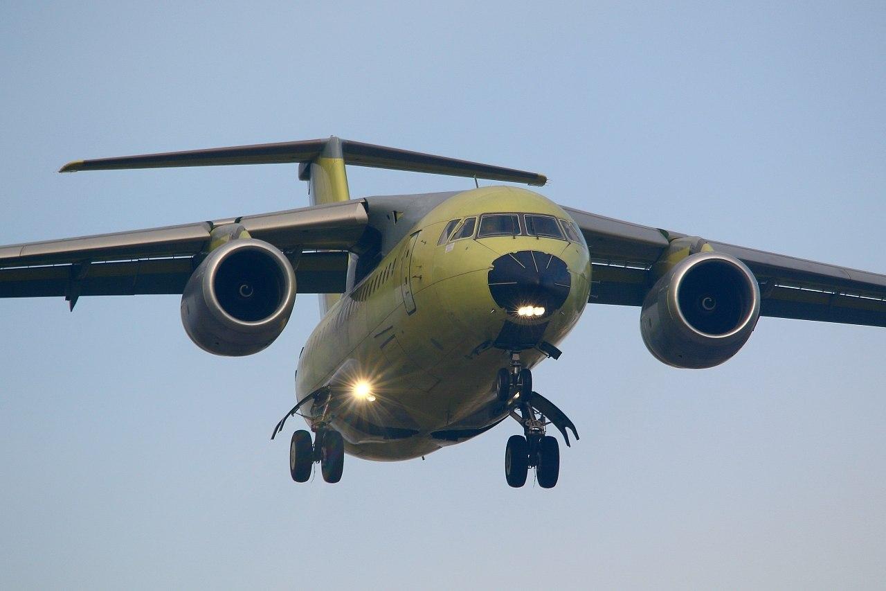 Новый воронежский Ан-148 для Министерства обороны России