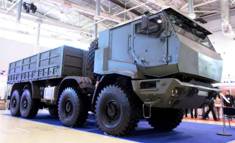 Разработка автомобилей для перевозки опасных грузов «Калибр»