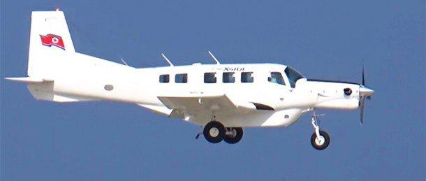 Новозеландский самолет Р-750 XSTOL в КНДР