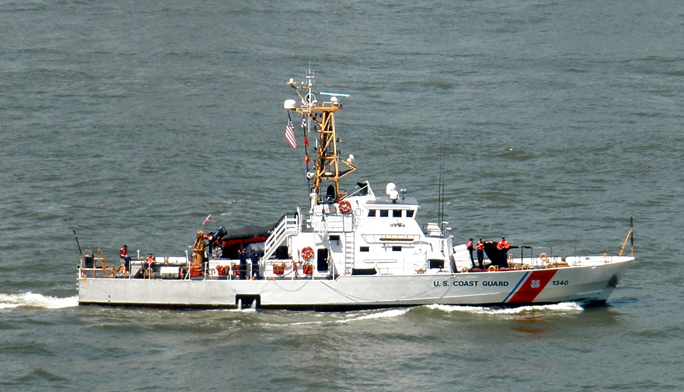 USCGC JEFFERSON ISLAND WPB 1340