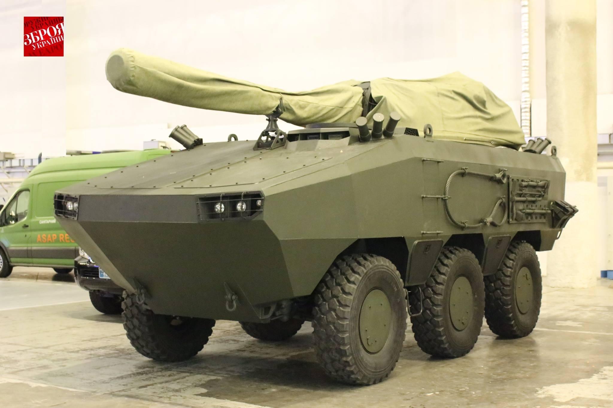 Украинская бронированная машина «Отаман 6х6»