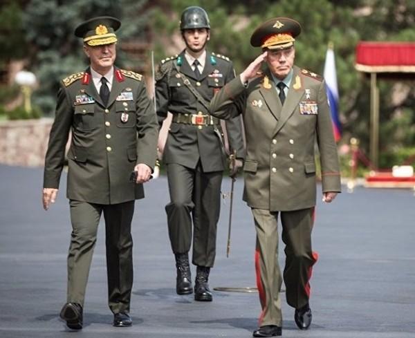 Новое появление начальника Генерального Штаба Вооруженных Сил России Герасимова в Турции