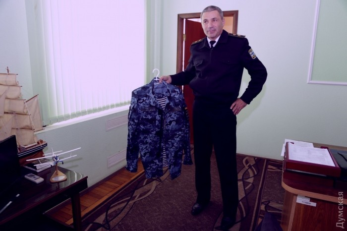 Новая форма украинских моряков