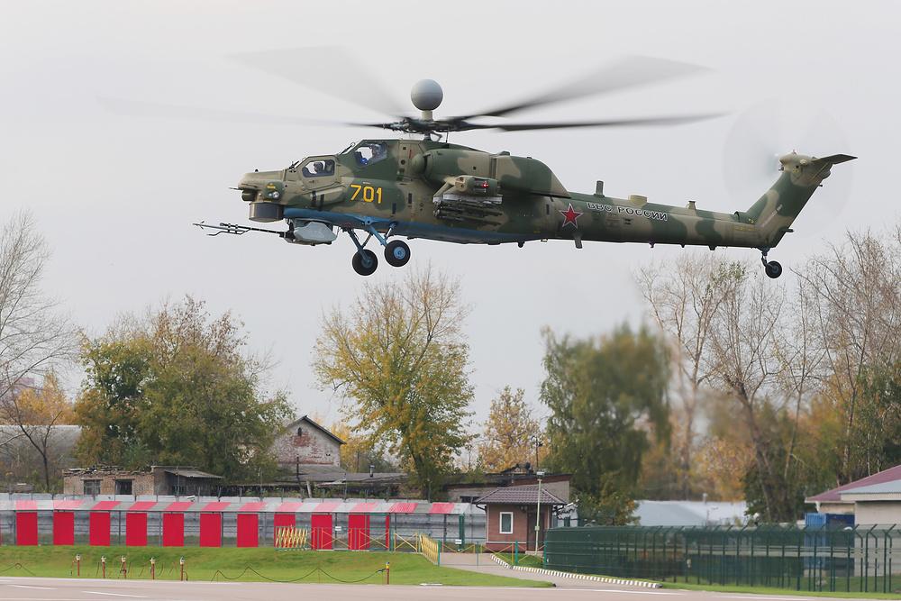Первый полет вертолета Ми-28НМ